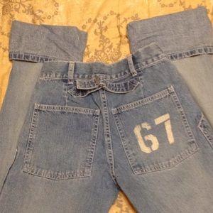 Girls Ralph Lauren Polo Jeans Co Cuffed Jeans 12